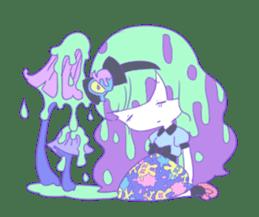 Yume-kawaii girl sticker #11432598
