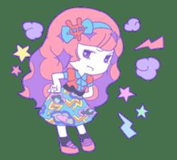 Yume-kawaii girl sticker #11432599