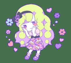 Yume-kawaii girl sticker #11432600