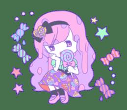 Yume-kawaii girl sticker #11432601
