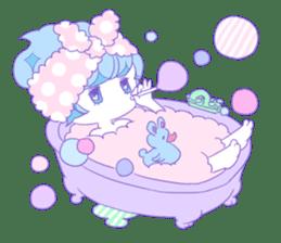 Yume-kawaii girl sticker #11432603