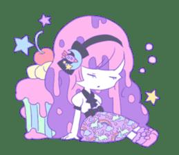 Yume-kawaii girl sticker #11432604