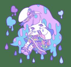 Yume-kawaii girl sticker #11432605