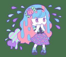Yume-kawaii girl sticker #11432608
