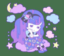 Yume-kawaii girl sticker #11432610
