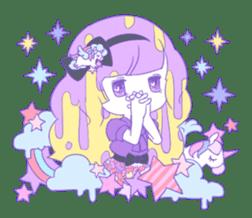 Yume-kawaii girl sticker #11432612