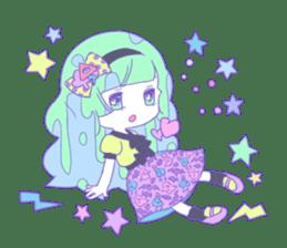 Yume-kawaii girl sticker #11432613