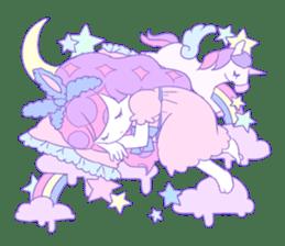 Yume-kawaii girl sticker #11432614
