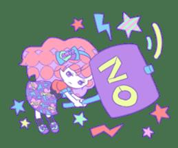 Yume-kawaii girl sticker #11432621