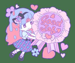 Yume-kawaii girl sticker #11432623