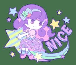 Yume-kawaii girl sticker #11432629