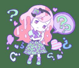Yume-kawaii girl sticker #11432631