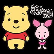 สติ๊กเกอร์ไลน์ Heartwarming Winnie the Pooh