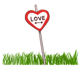 The Signs of Love sticker #11440890