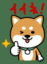 Messenger dog ! Mameshiba sticker #11440992