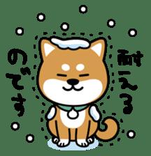 Messenger dog ! Mameshiba sticker #11441009