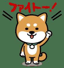 Messenger dog ! Mameshiba sticker #11441011