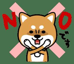 Messenger dog ! Mameshiba sticker #11441015