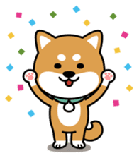 Messenger dog ! Mameshiba sticker #11441020