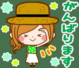 Leisurely a girlfriend  17  rainy season sticker #11441563