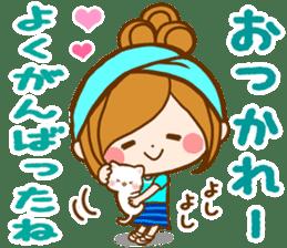 Leisurely a girlfriend  17  rainy season sticker #11441565