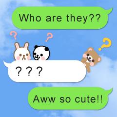Cutie Chatty Friends!! (Eng)