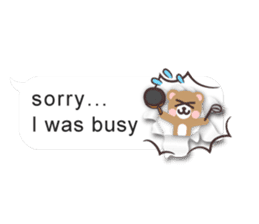 Cutie Chatty Friends!! (Eng) sticker #11460439