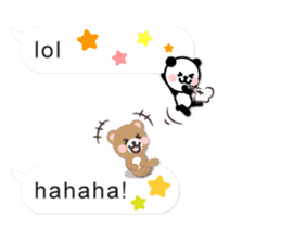 Cutie Chatty Friends!! (Eng) sticker #11460447