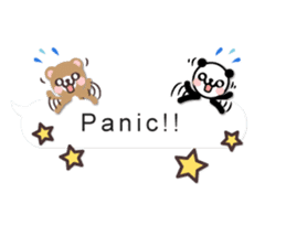 Cutie Chatty Friends!! (Eng) sticker #11460455