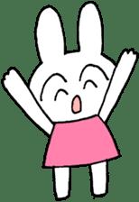 The Rabbit Dango-tyan sticker #11467578