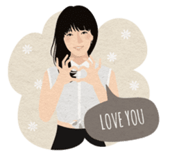 Al & Ve - Couple Daily Expressions sticker #11468415
