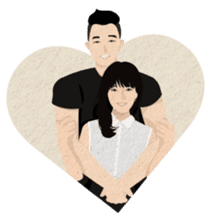 Al & Ve - Couple Daily Expressions sticker #11468430