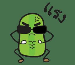 Mr Cucumber & Mrs Tomato sticker #11480622
