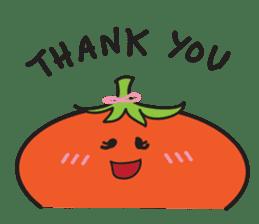 Mr Cucumber & Mrs Tomato sticker #11480641