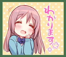 Feel down & Cheer up Girls' sticker #11482209