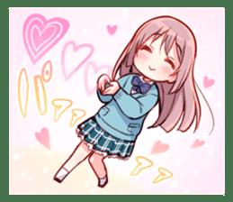 Feel down & Cheer up Girls' sticker #11482210
