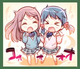 Feel down & Cheer up Girls' sticker #11482213