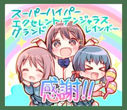 Feel down & Cheer up Girls' sticker #11482215