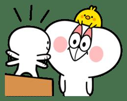 """Smile Person """"Small Smile"""" sticker #11483594"""