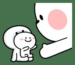 """Smile Person """"Small Smile"""" sticker #11483614"""