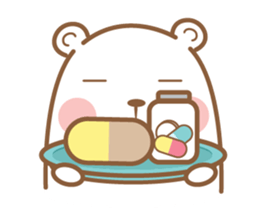 Bear and Rabbit 5 + sticker #11486408
