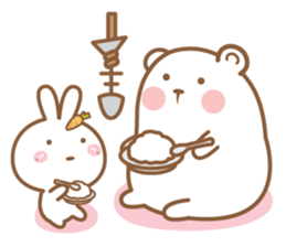 Bear and Rabbit 5 + sticker #11486422