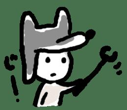 Wolf kun Sticker sticker #11487001