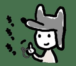 Wolf kun Sticker sticker #11487016