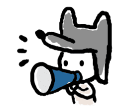 Wolf kun Sticker sticker #11487020