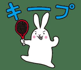 my pace tennis rabbit 2 sticker #11487352