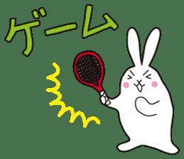 my pace tennis rabbit 2 sticker #11487354