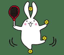 my pace tennis rabbit 2 sticker #11487357