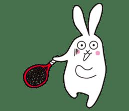 my pace tennis rabbit 2 sticker #11487358