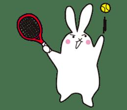 my pace tennis rabbit 2 sticker #11487359